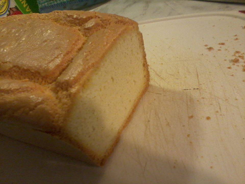 Gluten Free Bread Recipe to make your own low carb bread. Looks like wheat bread.
